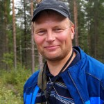 """According to nature surveyor, Mr. Timo Kypärä it is possible to protect a ditched mire. """"Yes, if it seems that it is already restoring itself due to choked ditches, or if it is possible to actively restore it,"""" says Kypärä. Photo: Hannes Mäntyranta"""