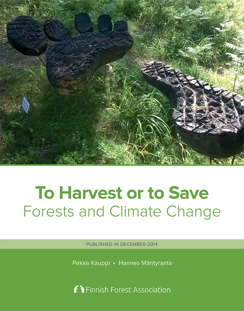 to harvest or to save forests and climate change finnish forest