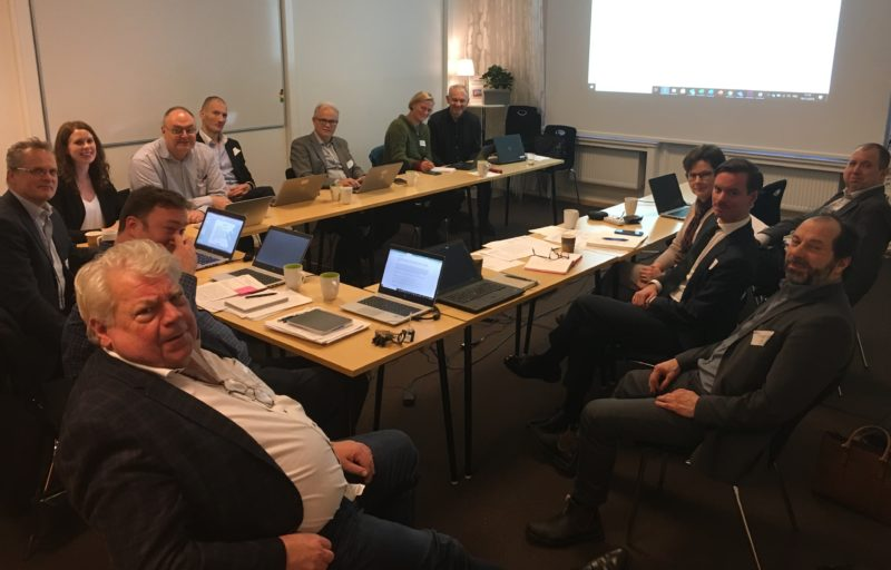 Forest Academy for EU Decision Makers working group meeting in Sweden, November 2019.